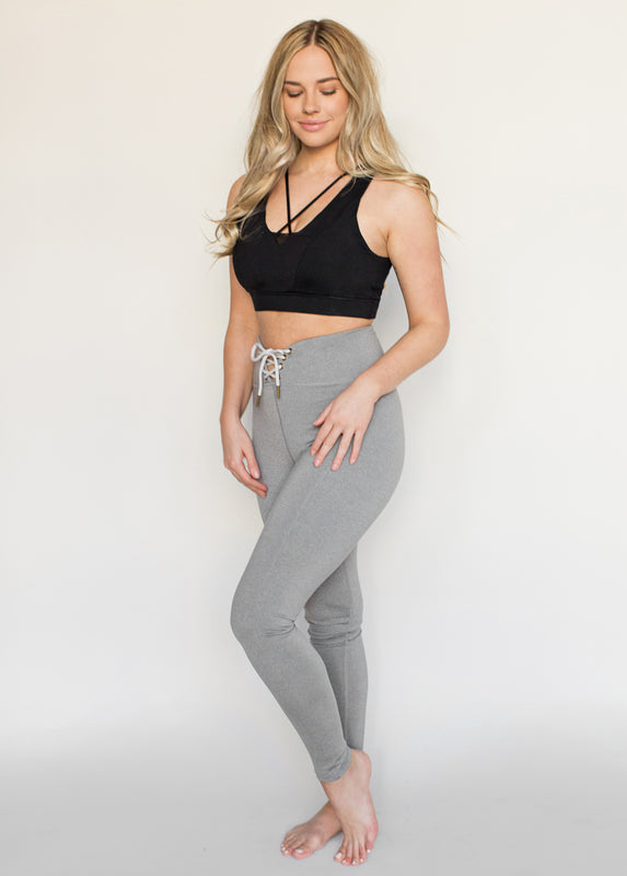 Elix Sports Bra in Black