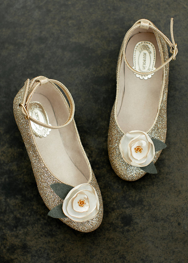 *NEW* Penny Lane Flat in Gold