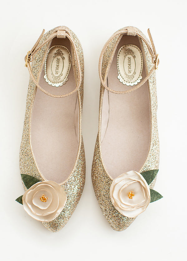 Penny Lane Flat in Gold