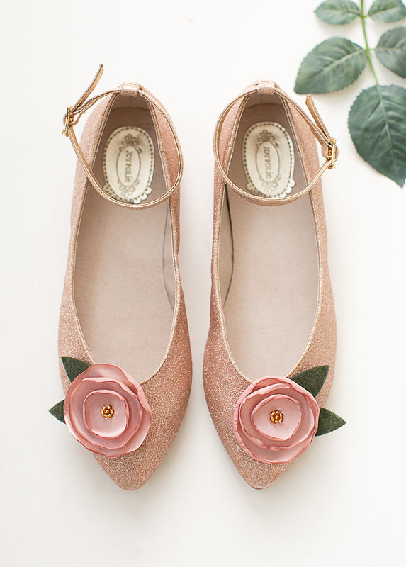 Penny Lane Flat in Rosegold