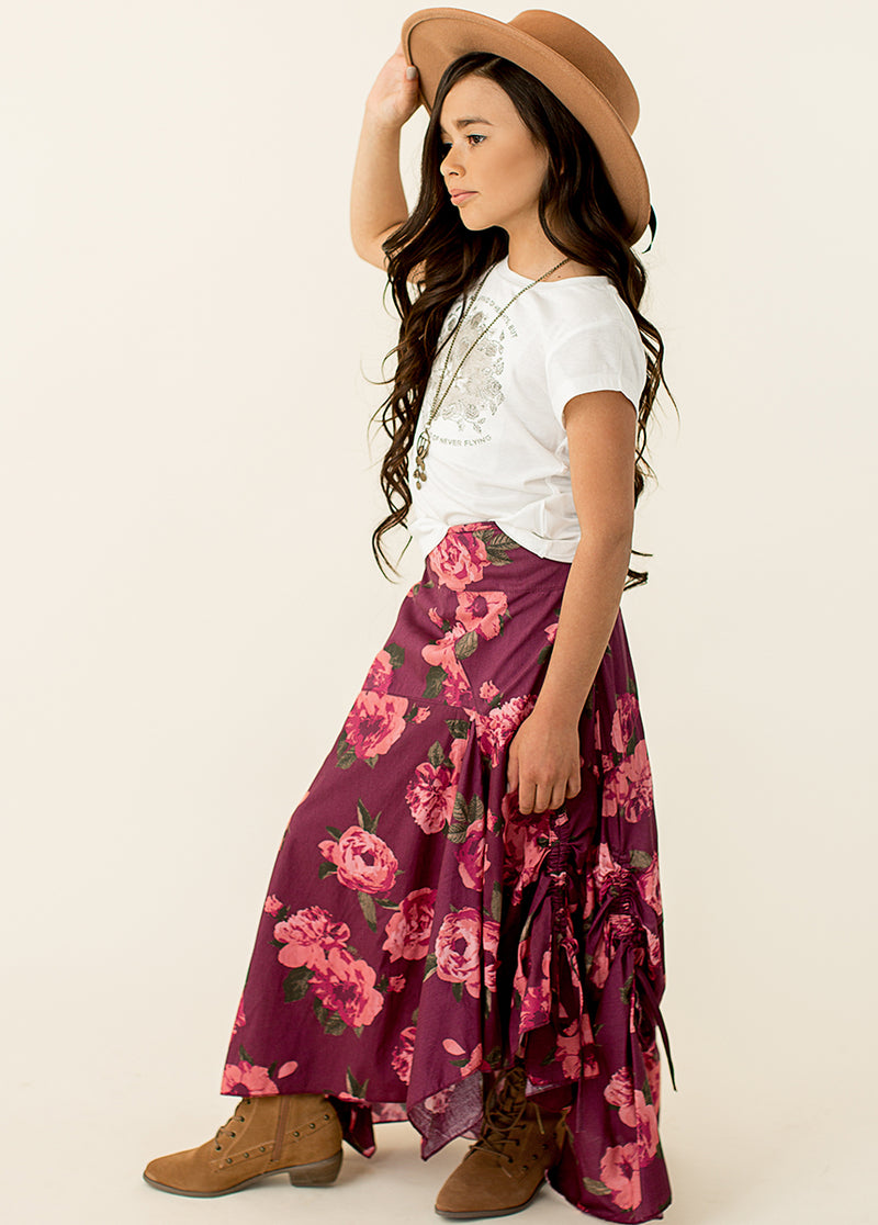 Perri Skirt in Floral