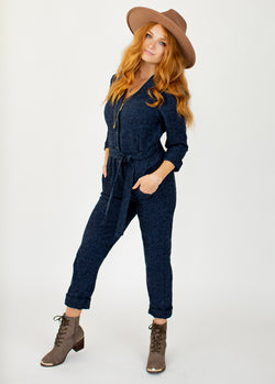 *NEW* Persephone Jumpsuit in Navy