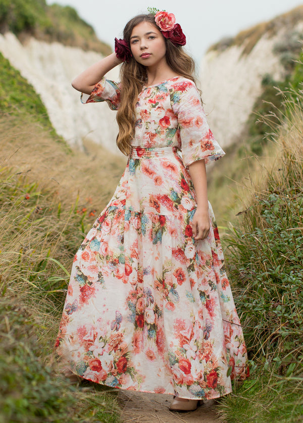 Phoebe Maxi Dress in Floral