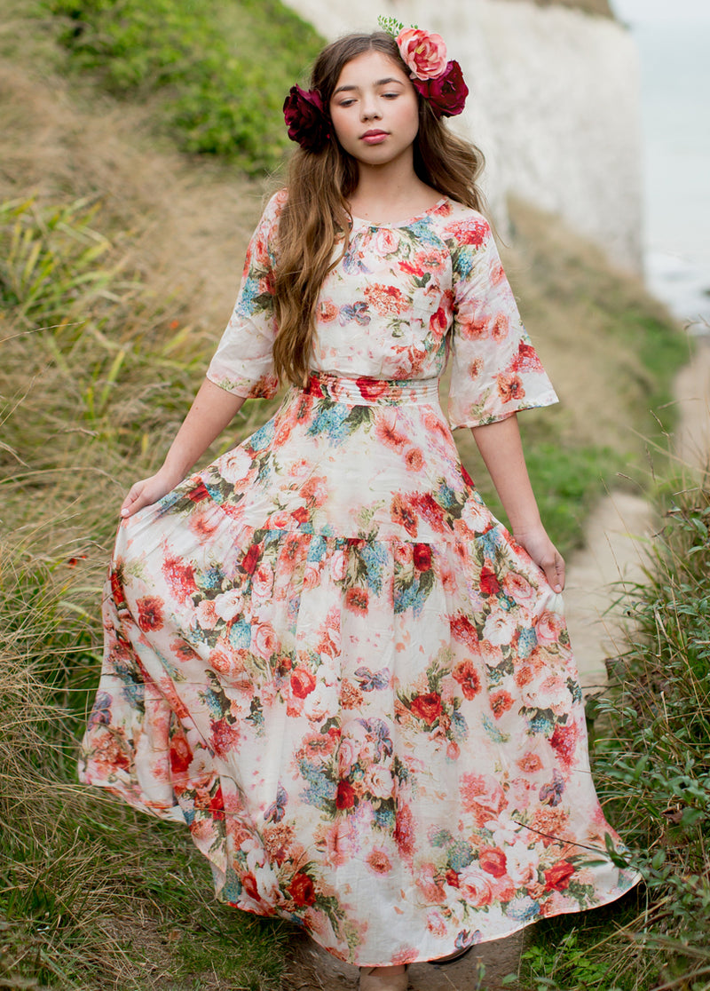 *NEW* Phoebe Maxi Dress in Floral
