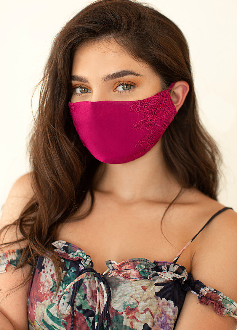 *SOLD OUT* Women's Arminda Mask Set in Rose Pink & Sandy Beach