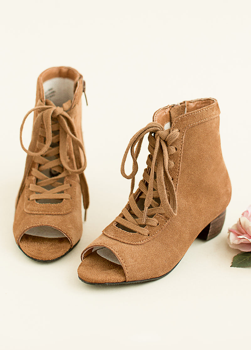 *NEW* Piper Booties in Suede