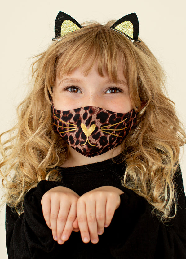 Rawr Mask in Leopard