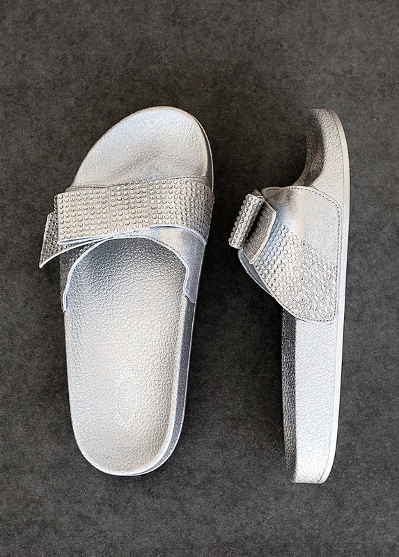 Rheanne Slide in Silver