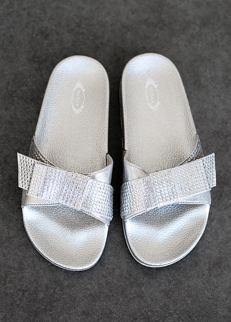 *NEW* Rheanne Slide in Silver