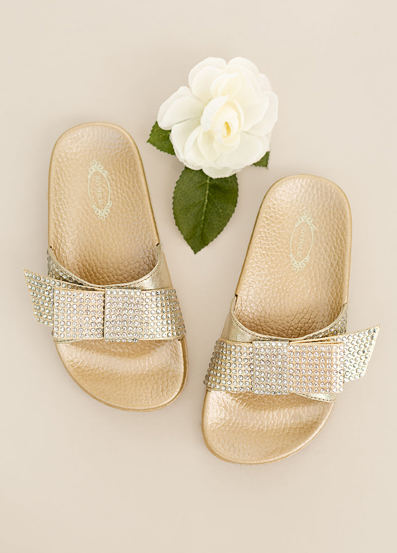 *NEW* Rizza Slide in Gold