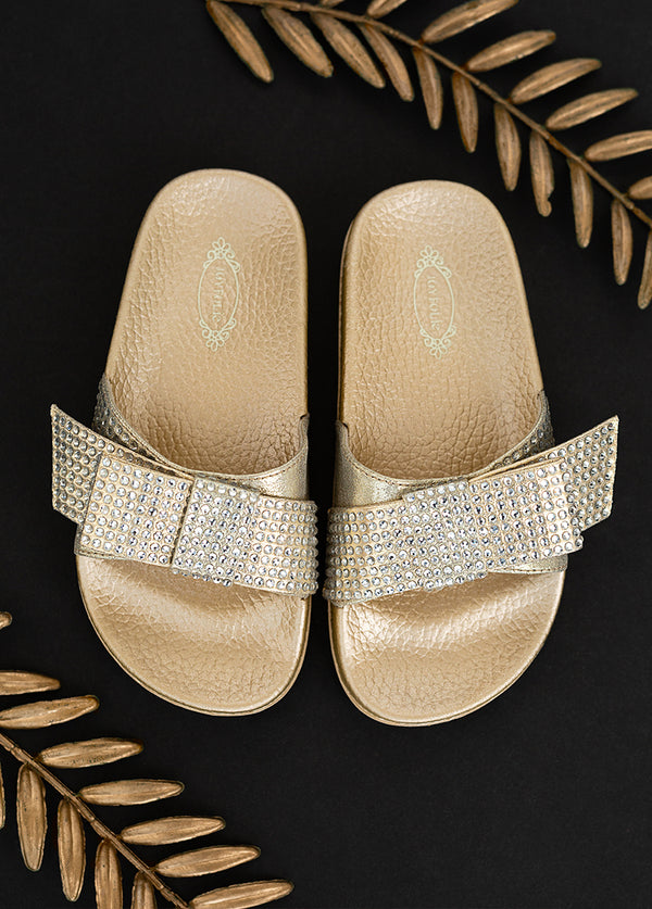 Rizza Slide in Gold