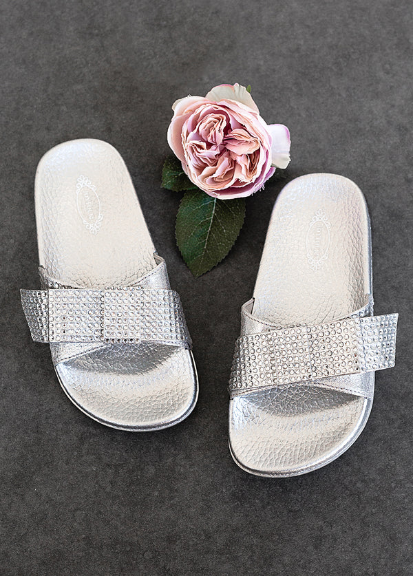 Rizza Slide in Silver