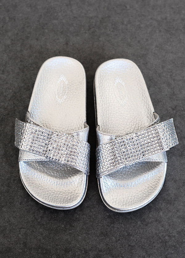 *NEW* Rizza Slide in Silver