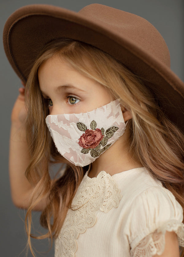 *NEW* Rosella Mask in Ivory