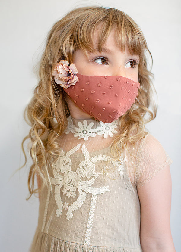 Arminda Mask Set in Mauve & Sandy Beach