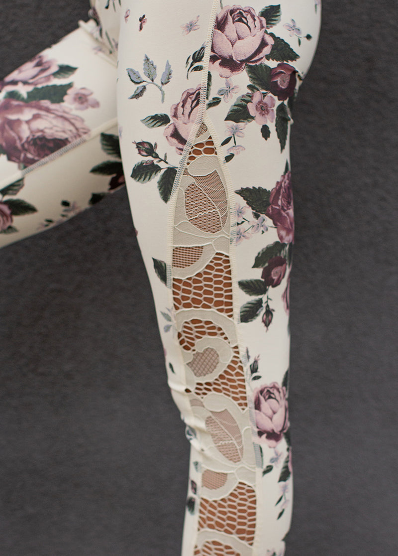 *NEW* Ryleigh Legging in Mauve Floral