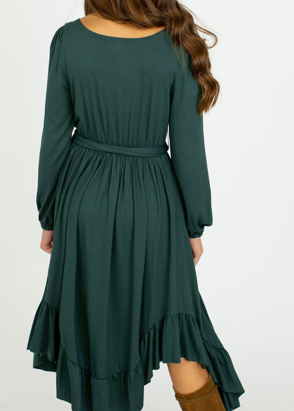 Umbrosia Dress in Spruce