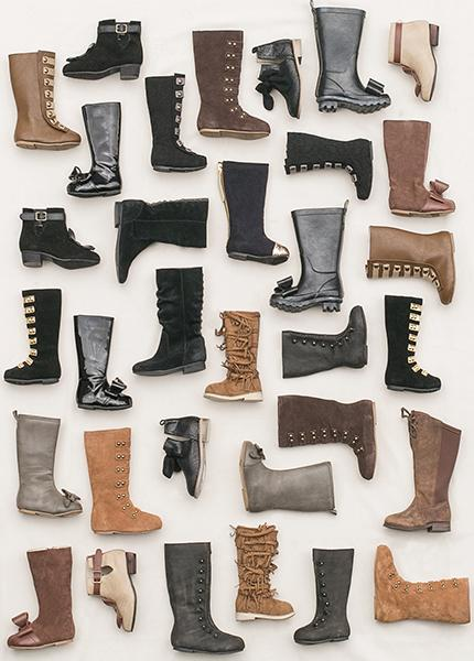 Girl's Boots Sample Box