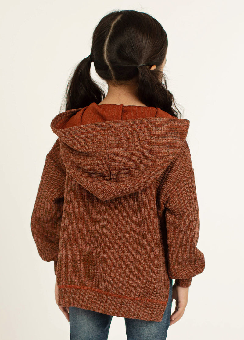 *NEW* Nelly Hoodie in Brick Red