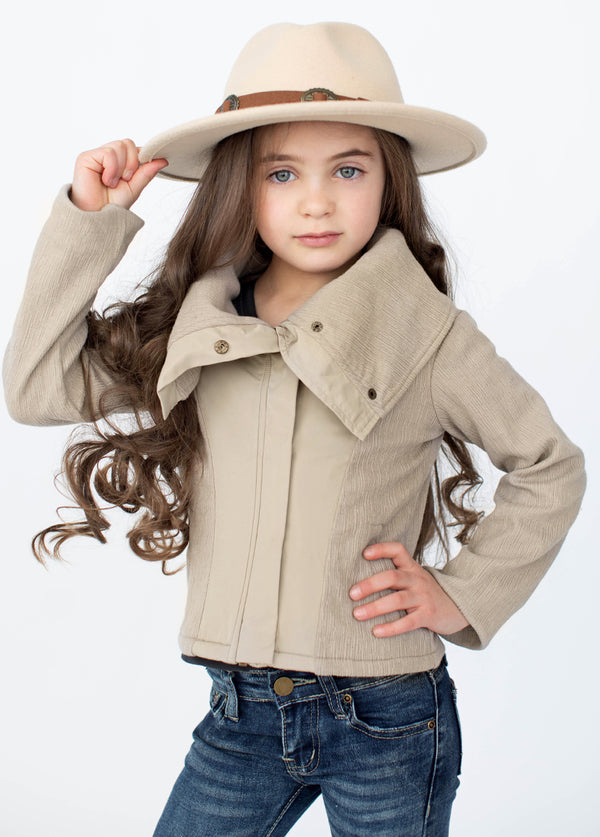 *NEW* Greer Jacket in Taupe