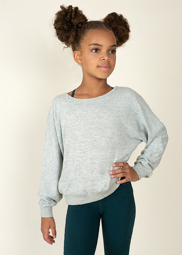 *NEW* Sierra Top in Gray