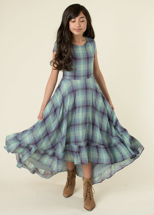 Skye Dress in Plaid
