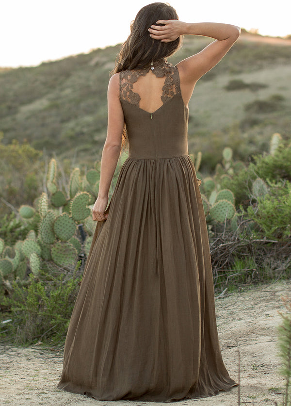 *NEW* Theodora Dress in Desert Palm