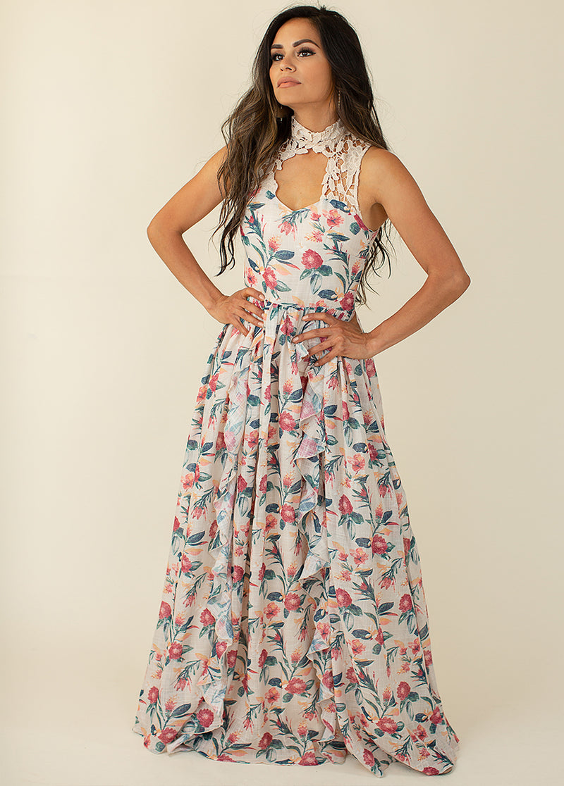 *NEW* Theodora Dress in Tropical Floral