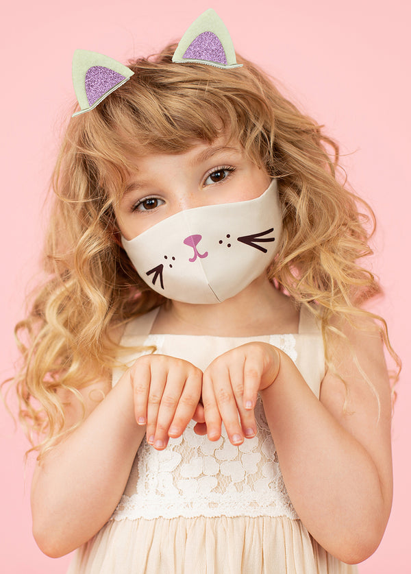 *NEW* Meow Mask in Sandshell