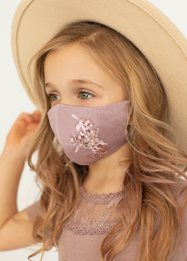 *NEW* Unicorn Mask Set in Dusty Mauve