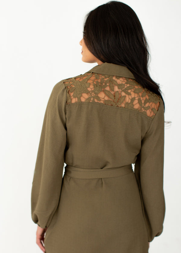 *NEW* Janie Dress in Olive