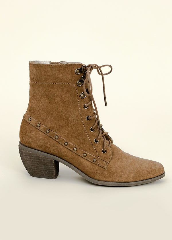 *NEW* Virginia Ankle Boot in Pecan