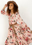 *NEW* Roanne Dress in Dusty Pink Spring Floral