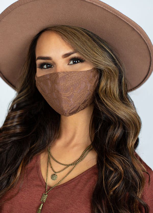 *NEW* Women's Boho Mask Set in Dusty Pink