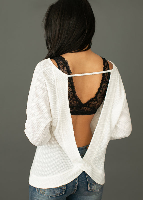 *NEW* Sienna Top in Bright White