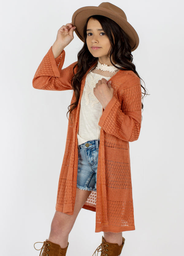 *NEW* Ximena Duster in Rust