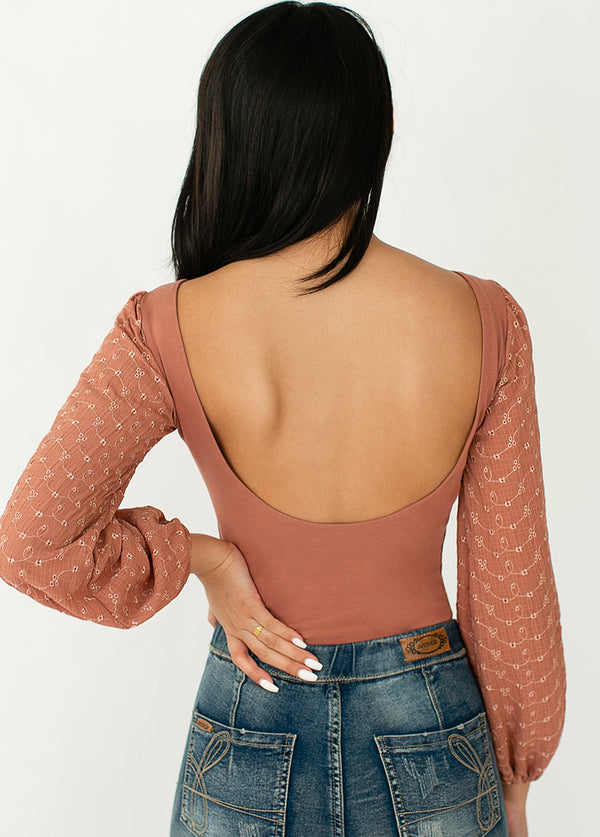 *NEW* Yassie Bodysuit in Desert Sand