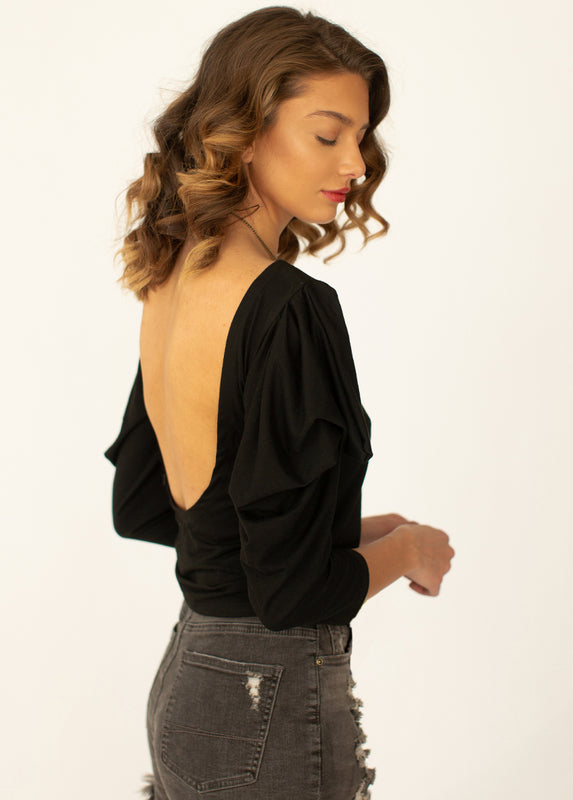 *NEW* Tootsie Top in Black
