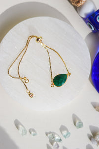 Crystal Arm Candy - Emerald
