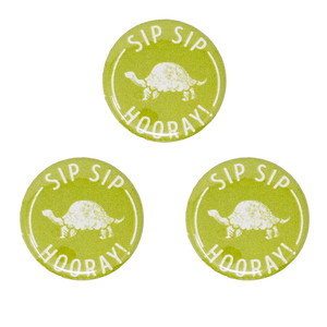 """Sip Sip Hooray"" Pin"