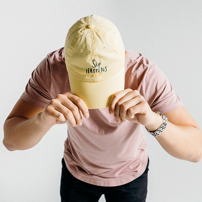 Sip Happens Dad Hat