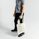 """Totes Love My Matcha"" Tote Bag"