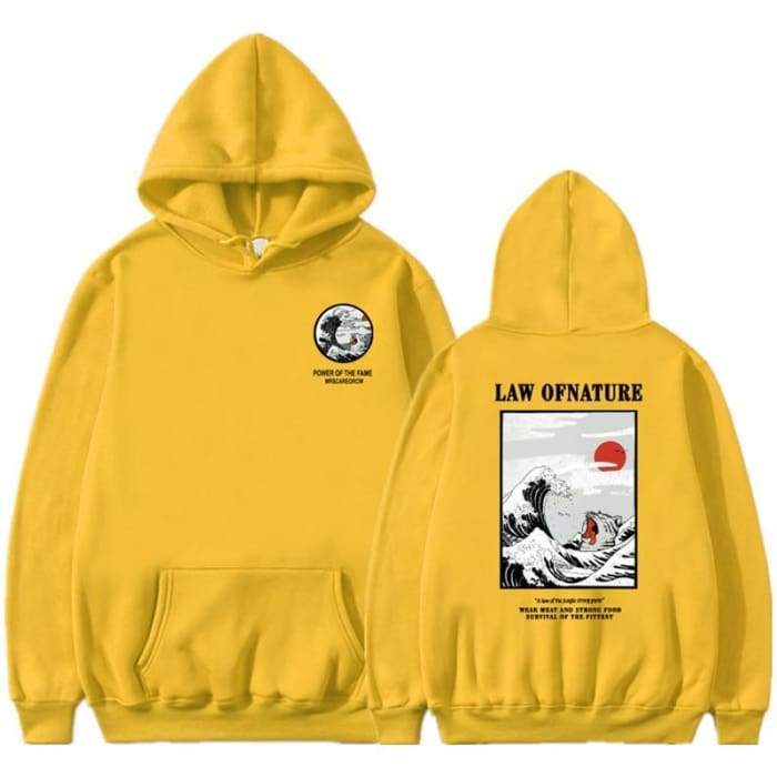 Hoodie Law Of Nature