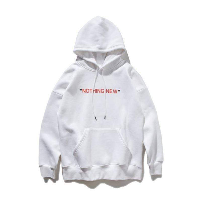 ZavanaStreet Hoodie Nothing New Orange / M