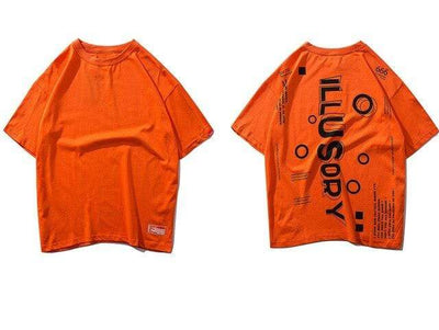 ZavanaStreet T-Shirt Illusion Orange / XXL