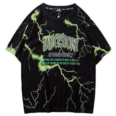 ZavanaStreet T-Shirt Lightning Bolt