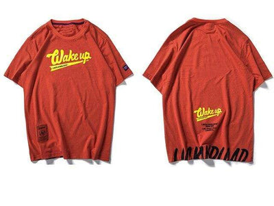 ZavanaStreet T-Shirt Wakeup Orange / L