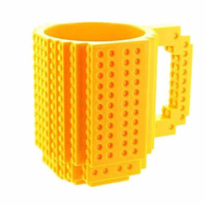 Creative DIY Build-on Brick Mug Lego Style Puzzle Mugs
