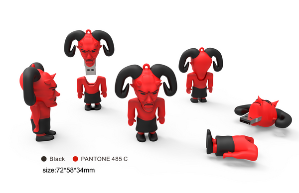 👹 USB Flash Drive