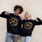 Men's Long Sleeve Shirt | Golden Yas Movement